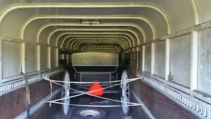 24ft Fully Enclosed Gooseneck Trailer