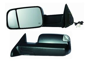 2010 2011 2012 Dodge Ram 1500 2500 3500 Driver Power Heat Tow Mirror W signal