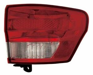2011 2012 Jeep Grand Cherokee New Right passenger Side Tail Light