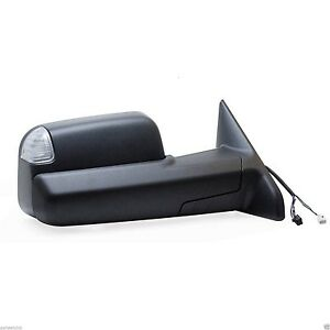 New Left Side Heated Signal Tow Mirror For 2009 2010 2011 2012 Dodge Ram 1500