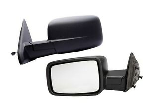 New Driver Side Power Heated Mirror For 2009 2013 Dodge Ram 1500 2500 3500