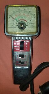 Vintage Cal Equip Dwell Tach Tester Model T 111