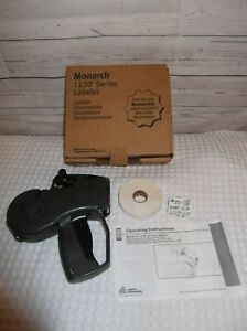 Monarch 1136 Two line Labeler Price Gun 1130 Series New W Tape And Ink