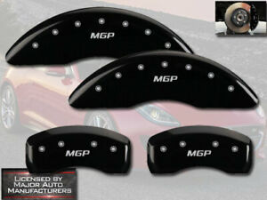 2017 2018 Jaguar F Pace Front Rear Black Mgp Brake Disc Caliper Covers 18