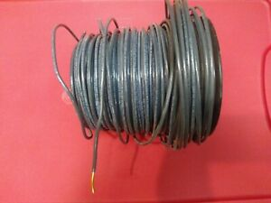 Thhn Black Solid Copper Wire 10 Awg 125 Ft