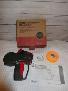 New Avery Dennison 1136 Labeler Price Gun 1130 Series W Tape And Ink New