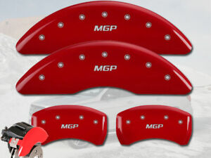 2018 2019 Mercedes Benz Gle43 Amg Suv Front Rear Red Mgp Brake Caliper Covers