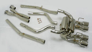 Obx Catback Exhaust System Fits 2005 To 2008 Chevy Corvette C6 Ls2 Ls3