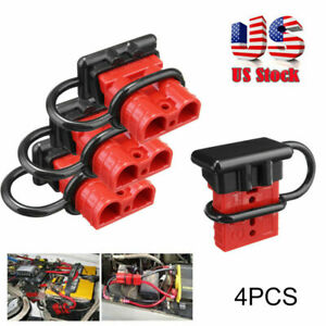 4x Battery Quick Connect Disconnect Tool Winch Electrical Wire Harness Kit Usps