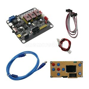 3 axis Laser Controller Usb Driver Board Stepper Motor 1 lcd Screen usb Cable Dl