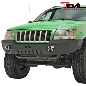 Tidal Fit For 99 04 Jeep Grand Cherokee Wj Off road Front Bumper