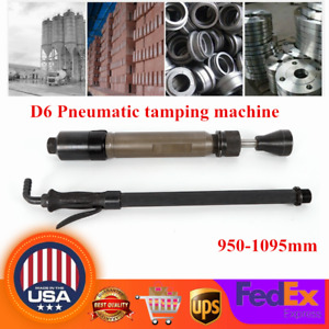 D6 Construction Pneumatic Tamping Machine Earth Sand Rammer Tamper 950 1095mm