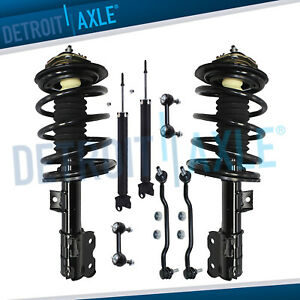 For 2002 2005 2006 Nissan Altima 3 5l Front Strut W Spring Rear Shock Sway Bar