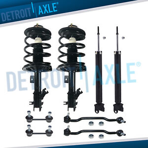 Nissan Altima Struts Assembly Shocks Sway Bars For All Front And Rear 2 5l