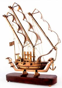 Sailor Collectible Nautical Solid Brass Crafted Marine Sailors Ship Model Bs 01