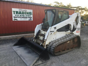 2005 Bobcat T300 Compact Track Skid Steer Loader W Cab Only 2700 Hours