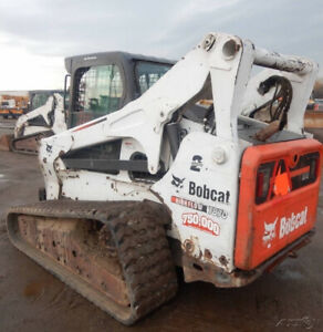 2011 Bobcat T870 Compact Track Skid Steer Loader W Cab High Flow Coming Soon