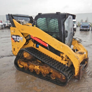 2016 Caterpillar 299d2 Compact Track Skid Steer Loader Cab High Flow Coming Soon