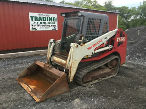 2009 Takeuchi Tl220 Compact Track Skid Steer Loader W Cab