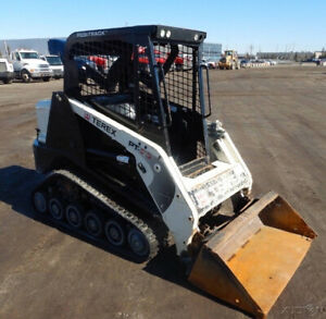2013 Terex Pt30 Compact Track Skid Steer Loader W Only 1100 Hours Coming Soon