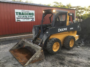 2015 John Deere 318e Skid Steer Loader Only 1100 Hours Coming Soon