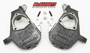 Mcgaughys 2 Drop Spindles 1999 2006 Chevy Gmc Truck Suv 17 Rims 33004