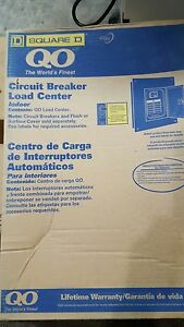 Square D Q0116l125g Breaker Box Load Center 16 Space 125a