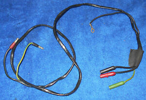 1965 1966 Ford Mustang Fastback Coupe Gt Convertible Orig Console Wiring Harness