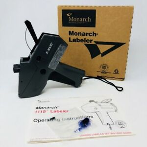 Genuine Monarch 1115 01 Price Gun Labeler Kmart W Box