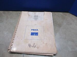 Fidia Cnc Isograph Language Programming Manual Mdo529 Copy Mill