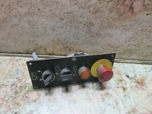 Toyoda Fv 65 Cnc Vertical Mill Load Switch Unit 566702 Control Panel