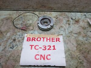 Brother Tc 321 Cnc Vertical Mill Tapping Center Brake Clutch Unit 4