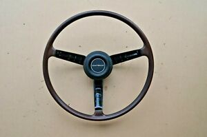 69 70 71 Datsun 240z Series 1 Original Steering Wheel With Horn Button