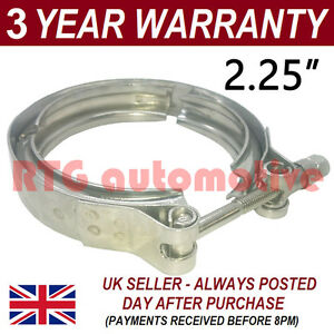 V Band Outer Clamp Stainless Steel Exhaust Turbo Hose Radiator 2 25 57mm