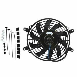 16 inch 12v Universal Radiator Electric Cooling Fan Mount Kits thermostat Kits