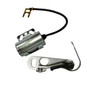 New Ignition Kit inc Points Condensor For Massey Ferguson F40 To35 35 50 65