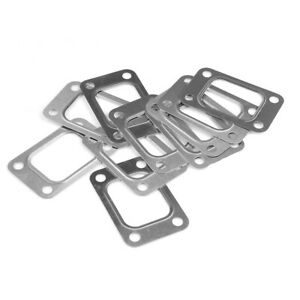 10pcs Turbo Turbine Exhaust Inlet Stainless Steel Manifold Flange Gasket T25 T28