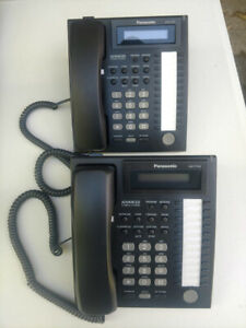 Panasonic Kx t7731 Digital Super Hybrid System Office Phones Telephone Lot Of 2