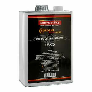 1 Gallon Medium Urethane Reducer 70 85 Degrees Mid Temp Auto Paint Thinner