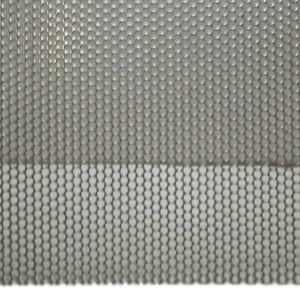5 32 Round Hole On 3 16 Staggered 18 Ga Stainless Perforated Sheet 12 X 24