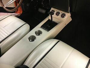 1967 68 69 Camaro Firebird Console With Guage Pod Pro Touring Restomod Shifter