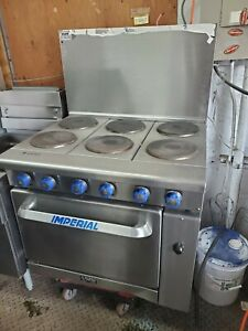 6 Buner Electric Stove Imperial