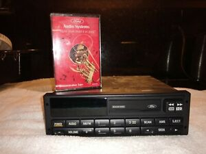 Original Ford Mustang Cassette Radio 1994 1995 1996 1997 1998 Demo Tape Incl