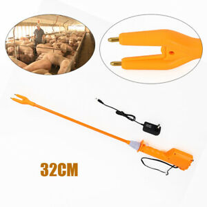 4400ma 32cm Rechargeable Electric Livestock Cattle Pig Prod Animal Stock Prodder