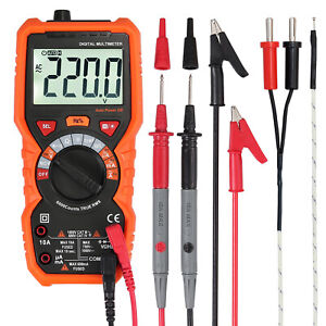 Truerms Digital Multimeter Auto Range Ac dc Voltage Current Ncv Tester Backlight