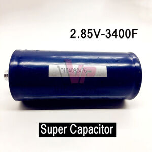 1 4pcs 2 85v 3400f Farad Capacitor Electrical Component Super Electric Capacity