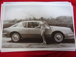 1963 Studebaker Avanti Miss Dominion 11 X 17 Photo Picture