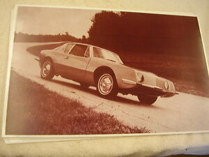 1963 Studebaker Avanti On Proving Grounds 11 X 17 Photo Picture