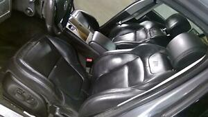 2010 Jaguar Xfr Complete Leather Seat Set Front And Rear Headrest Dvd