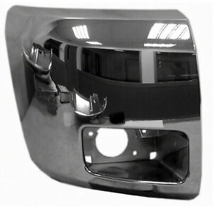Gm1005156 Front Right Side Bumper End Plastic Fits 12 13 Chevy Silverado Value